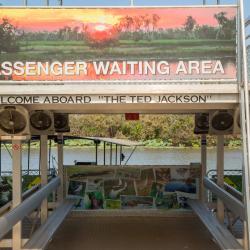 Passenger waiting area